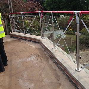 Fabricated railings by V & R