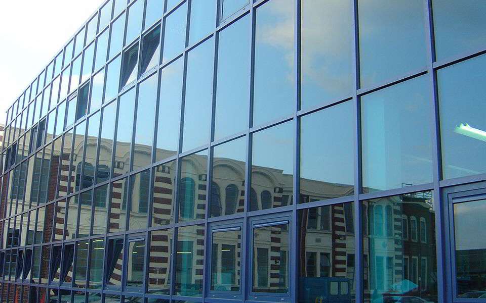 Curtain Walling by V&R Installations