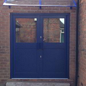 window and door installation - fire doors by V&R