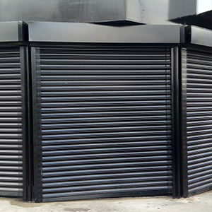 Shop security shutters by V & R