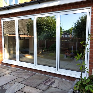 External Bi-fold Doors Installation